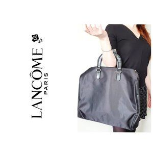 LANCOME Large Travel Black Tote Bag